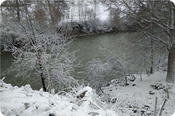 下雪的唐布拉