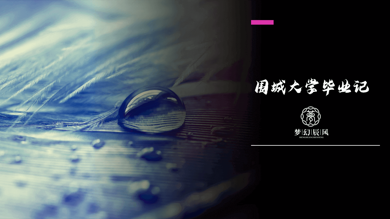 围城大学毕业记(三)